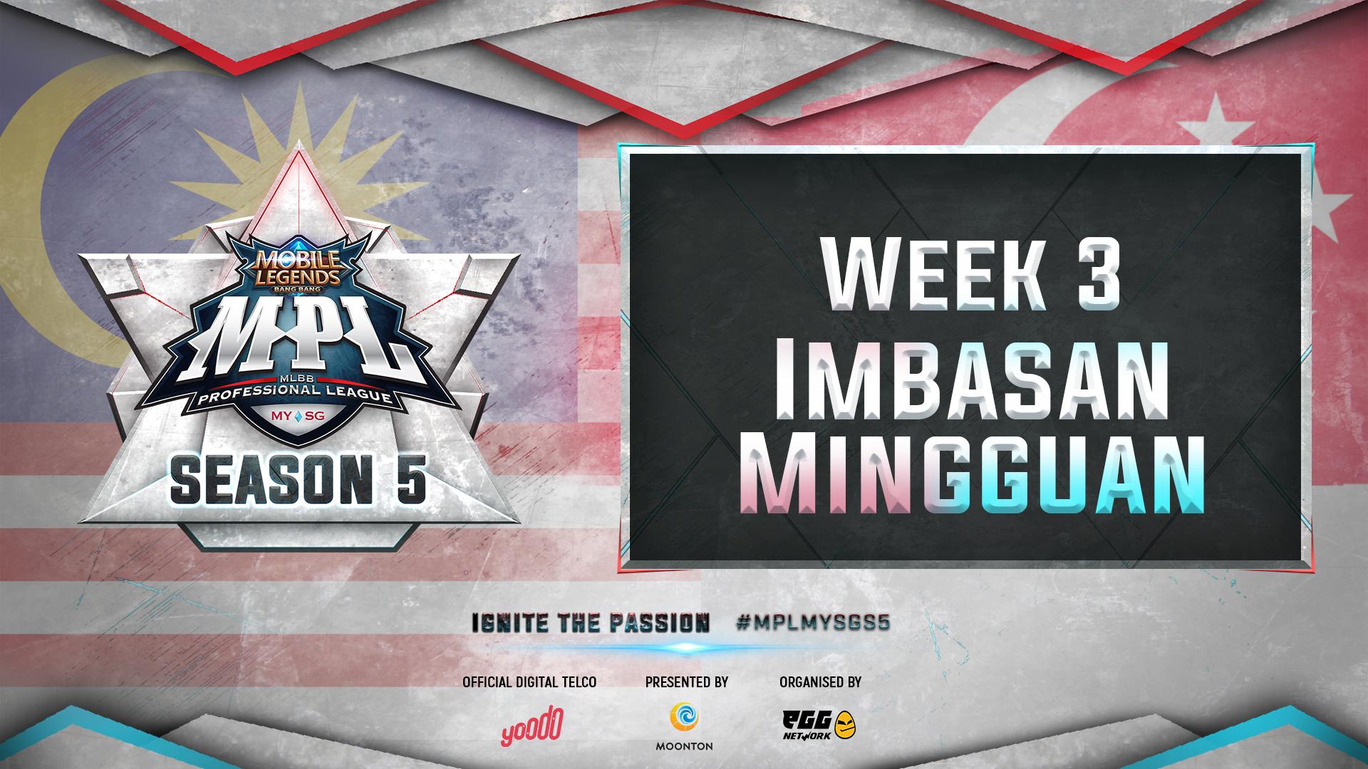 Juara Musim 3 dan 4, Geek Fam dan EVOS SG meneruskan prestasi cemerlang