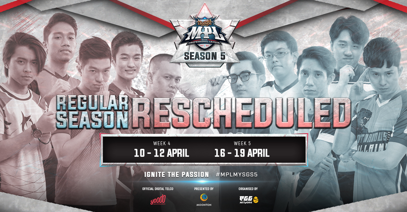 Mobile Legends: Bang Bang Professional League Malaysia and Singapore Season 5 Resumes
